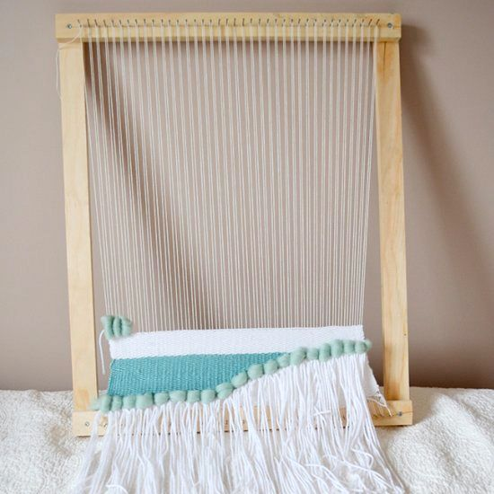 Use this simple tutorial to make your own loom and start creating beautiful wall weaves!