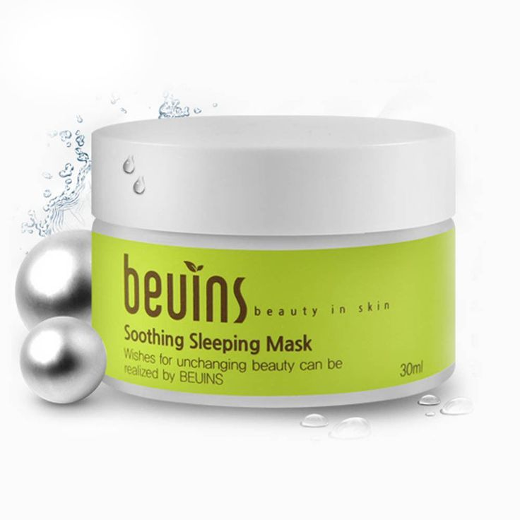 beuins Soothing Sleeping Mask 30ml Sensitive Skin Facial Care Pack k-beauty  #Beuins