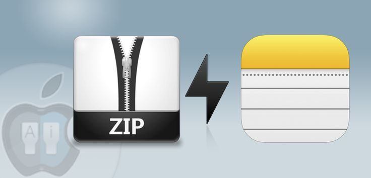 Sabías que Cómo abrir un archivo .ZIP con la aplicación de Notas