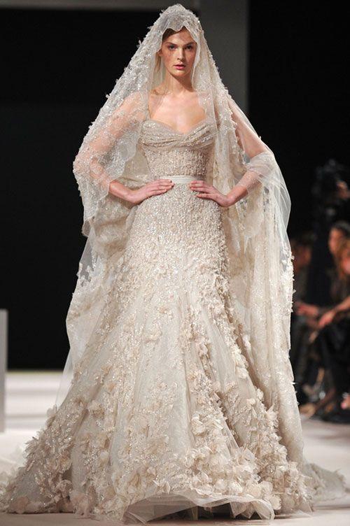 Haute couture wedding dresses elie saab fashion for Last season wedding dresses