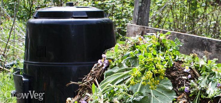 Best locations for composting in your organic garden