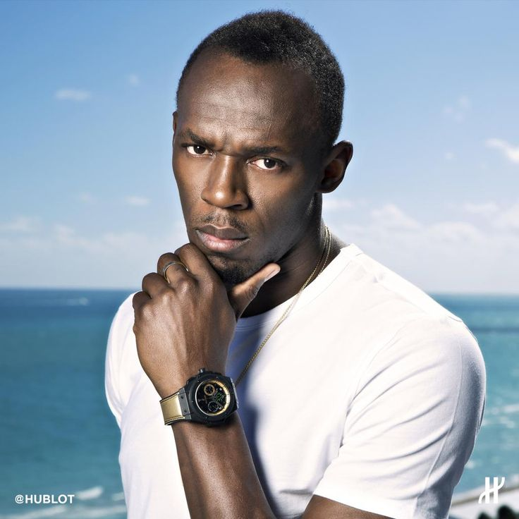 Our fastest ambassador @USAINBOLT! Since the famous BIG BANG, no man has ever run such a distance in so few seconds!