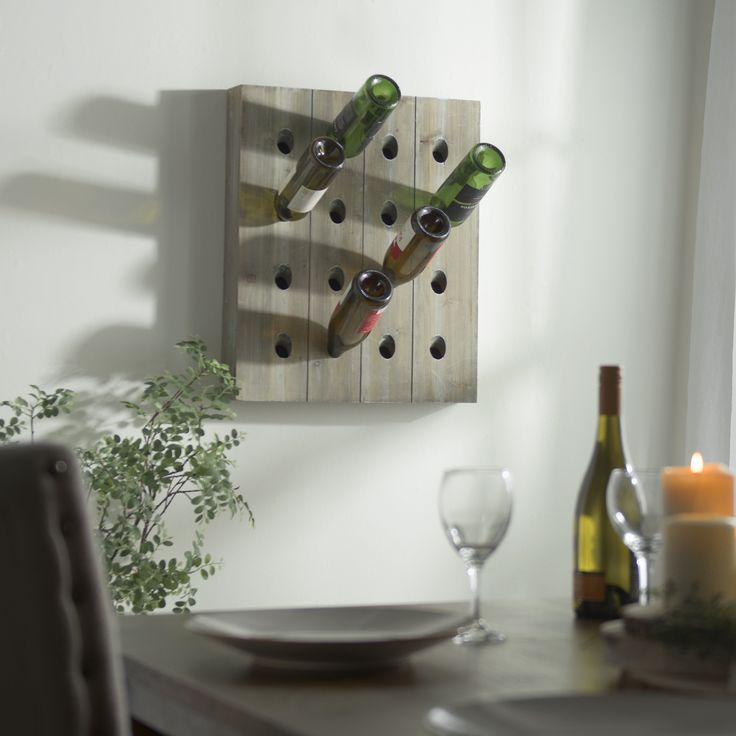 Find your home's newest, rustic addition on sale for $19.98 through 1/29. Shop the 'Slatted Wood Wine Bottle Rack' only at Kirkland's!