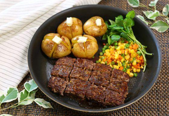 みきママの、サイコロステーキのレシピ。ひき肉を使います。  |  やまでら くみこ のレシピ