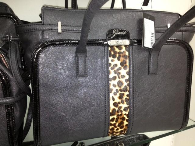 Rosemary, Farmers.  Guess blk leopard handbag, $259.00