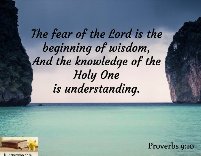 Fear of the Lord—A Gift of the Holy Spirit