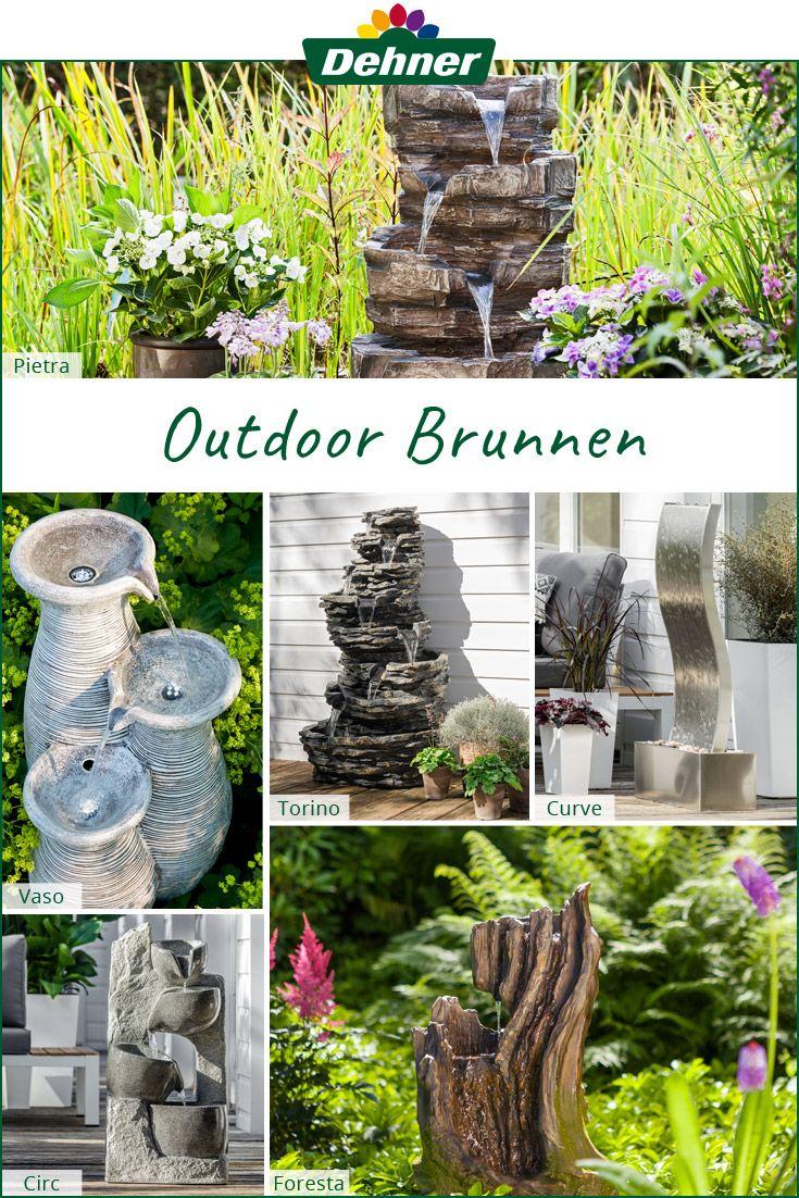 Gartenbrunnen Fur Jeden Geschmack Gartenbrunnen Garten Garten Deko