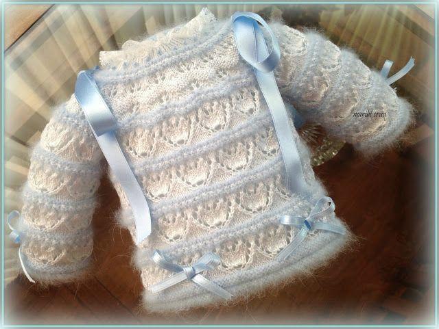 En lana, perlé y angora para bebé: Tutoriales