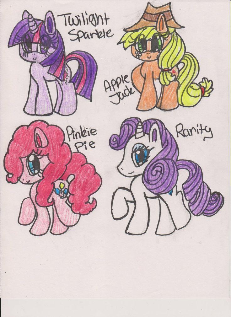 mlp drawings Figure drawing, Drawings, Little pony