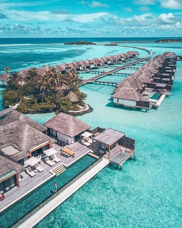 Maldives Honeymoon Vacations World Travel Destinations Unique Honeymoon Destinations Maldives Travel Vacation Places