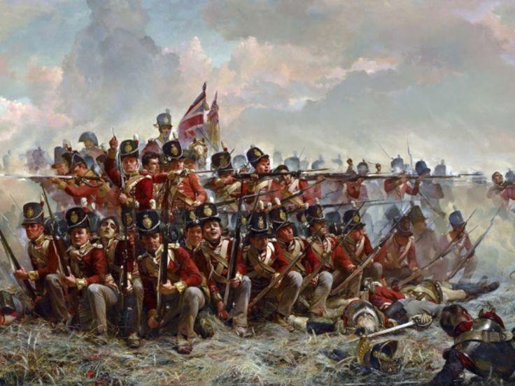 28th Regiment of Foot, Quatre Bras..Waterloo 1815