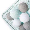 Cottonball lights mint wint grijs M
