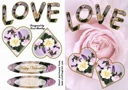 Love Pink 3 on Craftsuprint - View Now!