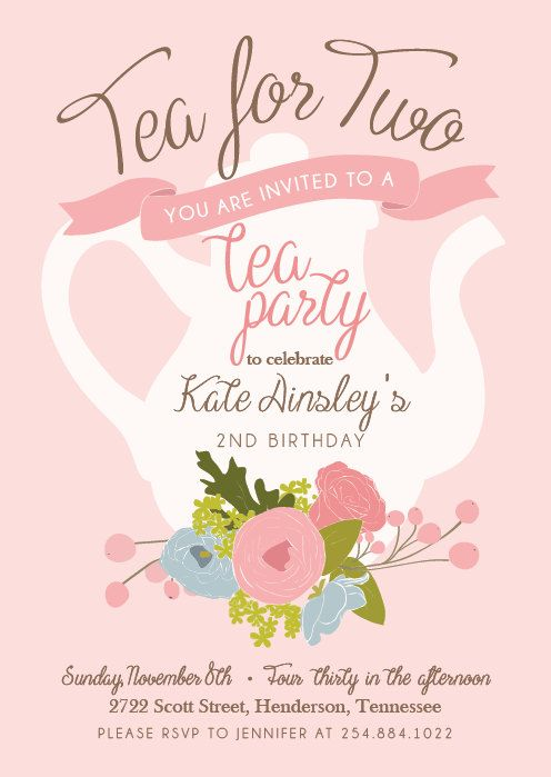 Best  Tea Party Invitations Ideas Only On   Tea