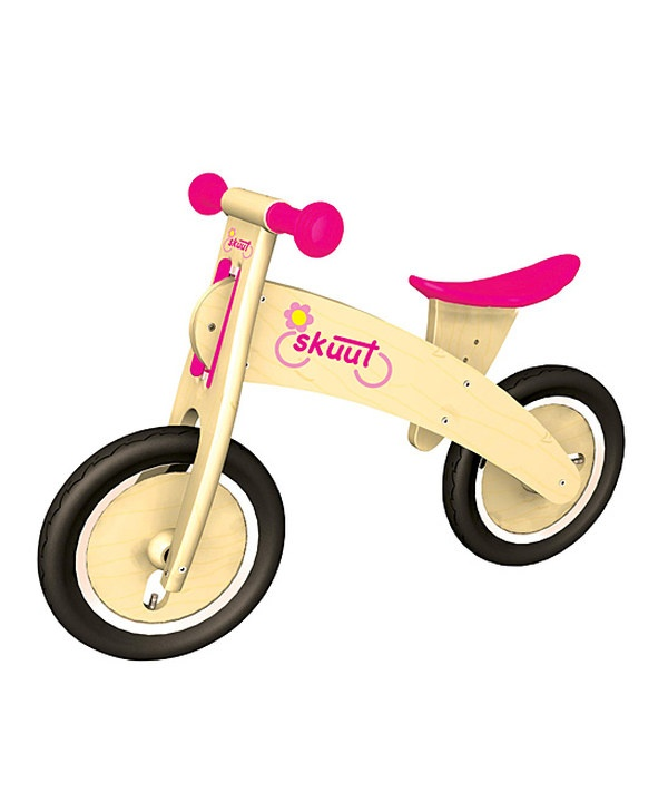 Take a look at this Pink Skuut Balance Bicycle on zulily today!