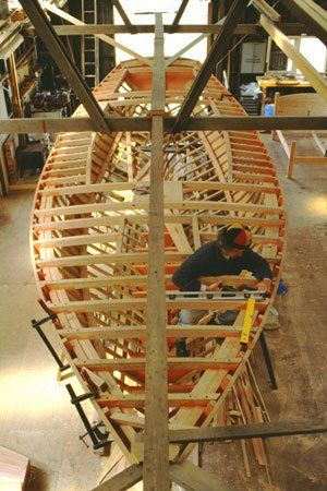 How To Build Wooden Boat: Boat Building Plans For Beginner