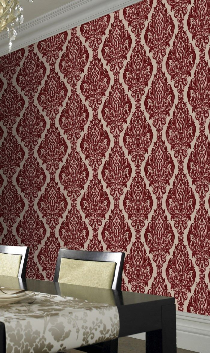 46 best master suite images on pinterest home architecture and room kinky vintage red wallpaper naughty noir by graham brown