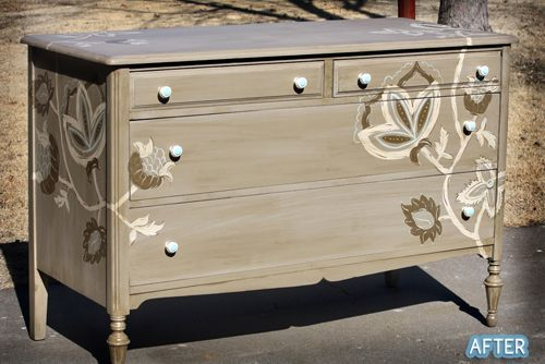 Fab: Paintings Furniture, Chiffonier, Photos Ideas, Refurbished Furniture, Paintings Dressers, Dressers Redo, Dressers Makeovers,  Commode, Repaint Dressers