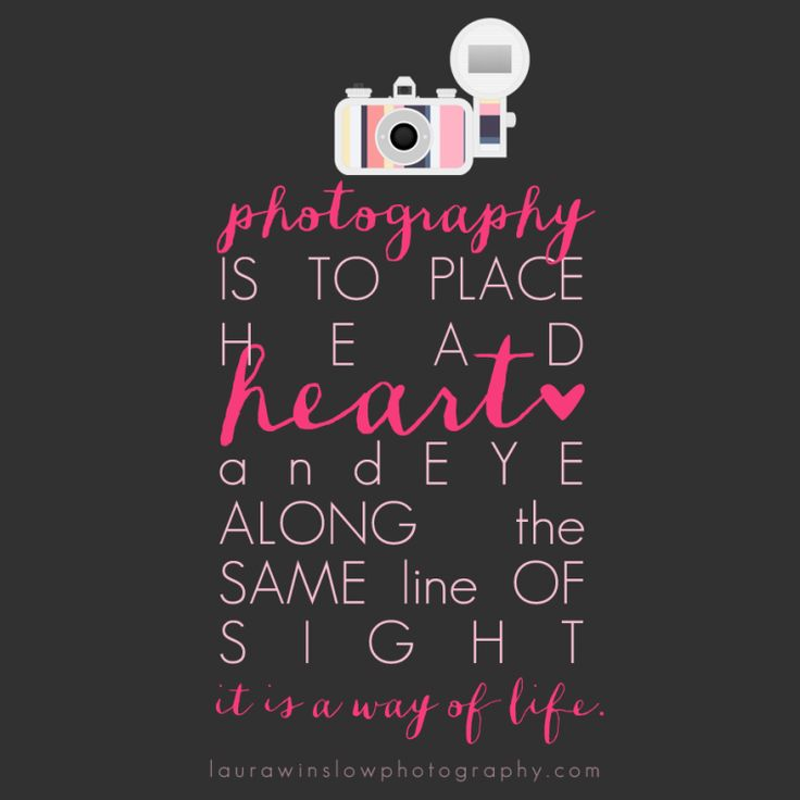 Instagram Photography Quote Laura Winslow Inspirational Photography Quote Free Print // Memorable Words Monday