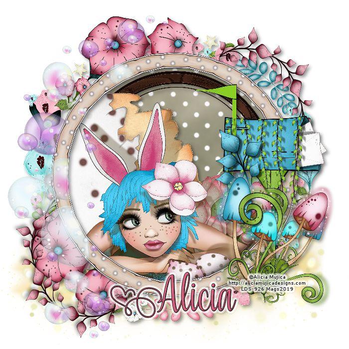 """Alicia Mujica """"Lori"""" Que vivan los novios, Pink, Owl"""
