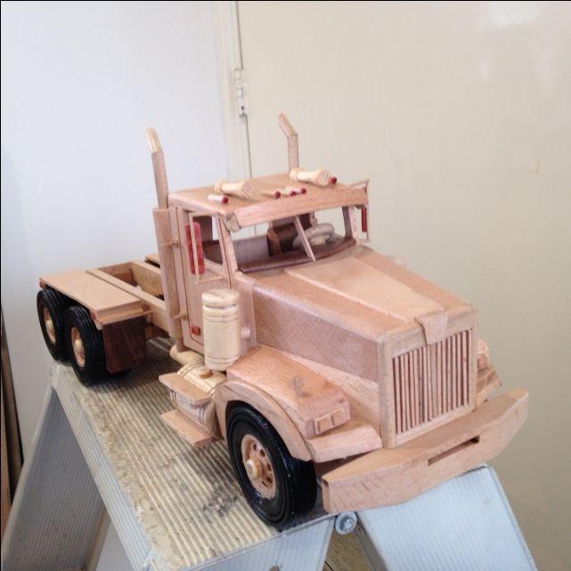 122 best images about wood toys on pinterest models for Wood floor for 379 peterbilt