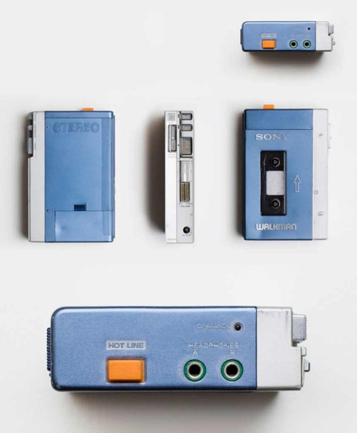 The original Sony Walkman was marketed in 1979 as the Walkman in Japan and, from 1980, the Soundabout in many other countries including the US, Freestyle in Sweden and the Stowaway in the UK.