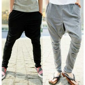 $ 21.96+ free shipping! Stylish Casual Sport Sports Saggy Harem Cording Pants Trousers For Men Boys