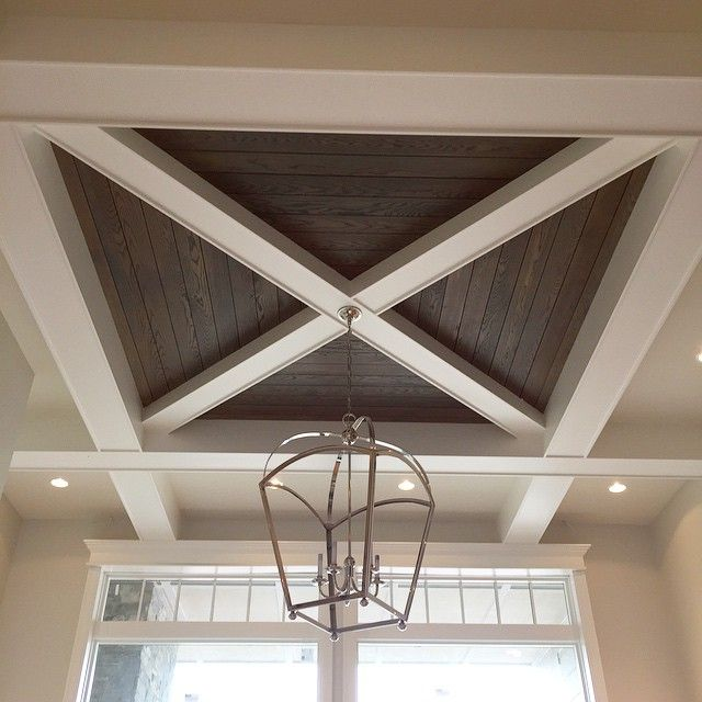 ceiling support beam ideas - 25 best ideas about Wood Ceiling Beams on Pinterest