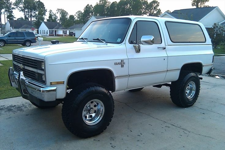 1983 Chevy Suburban 4x4 Lifted