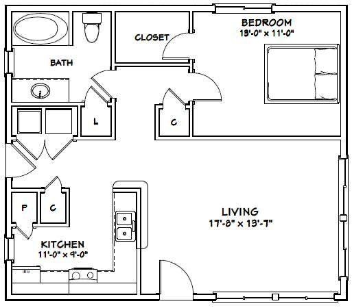 30×26 House — #30X26H1A — 780 sq ft – Excellent …