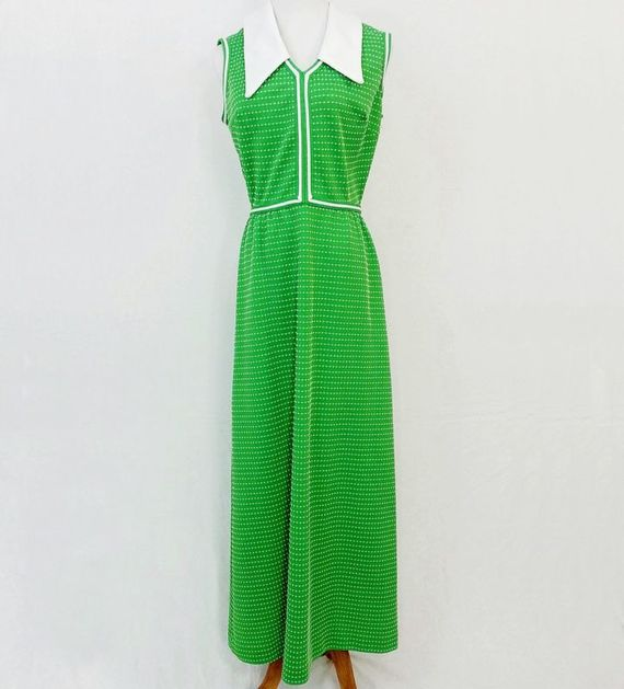 Mad Men Vintage Fans this dress is for you Simply Fab Bright Green Maxi Dress. Do you love it?