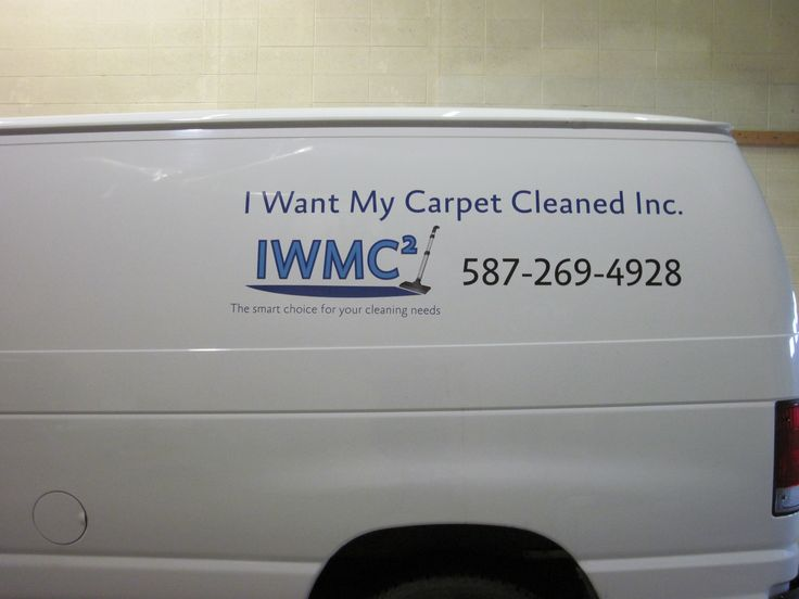 Great van decal completed by Speedpro Imaging Edmonton South! Informative!