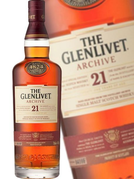 The GLENLIVET 21 YO ARCHIVE
