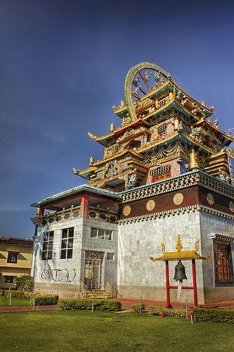 Namdroling Nyingmapa Monastery . Tibet