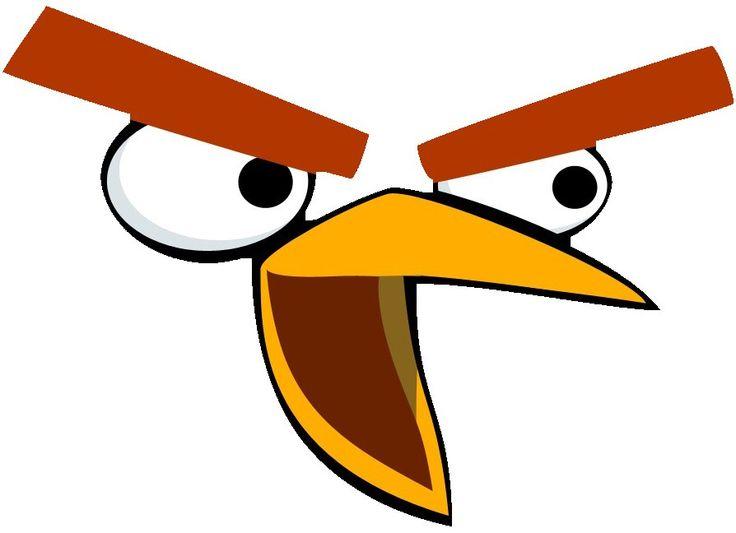 Pin Ot Polzovatelya Summer Trzeciak Na Doske Angry Bird Birthday Idei Podarkov Trafarety Den Rozhdeniya