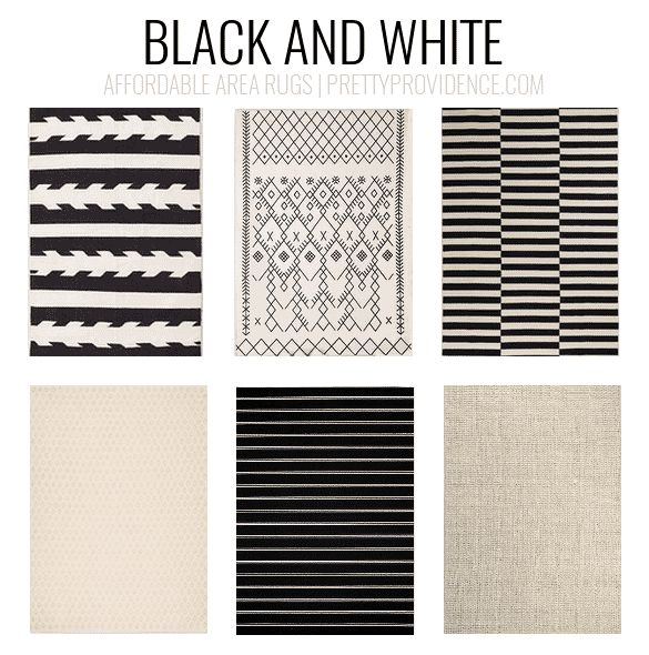 Black And White Rugs Affordable Area 5x7 Less Than 150 Or 8x10