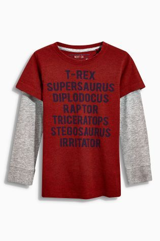 Buy Red Dino Skate T-Shirt (3-16yrs) online today at Next: Finland