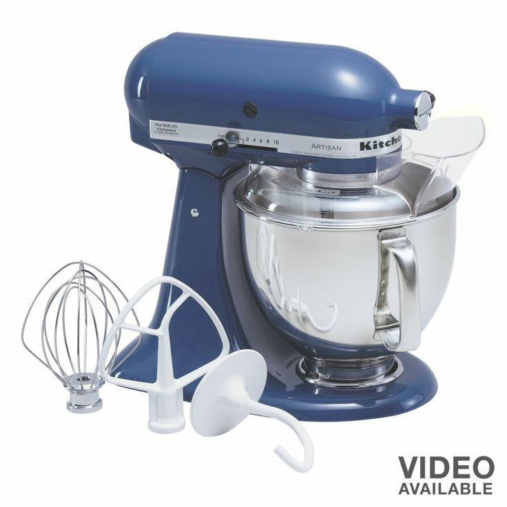 KitchenAid Artisan Series Blue Willow Countertop Stand Mixer At Loweu0027s. The  KitchenAid Artisan Series Tilt Back Head Stand Mixer, In Blue Willow, ...