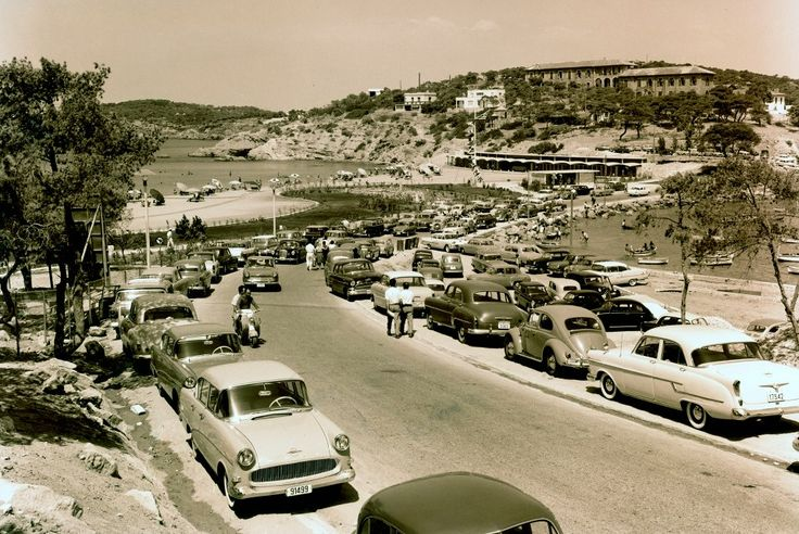 TRAVEL'IN GREECE | Sunday of July 1960 in Vouliagmeni, #Athens, #Attica, #Greece, #travelingreece