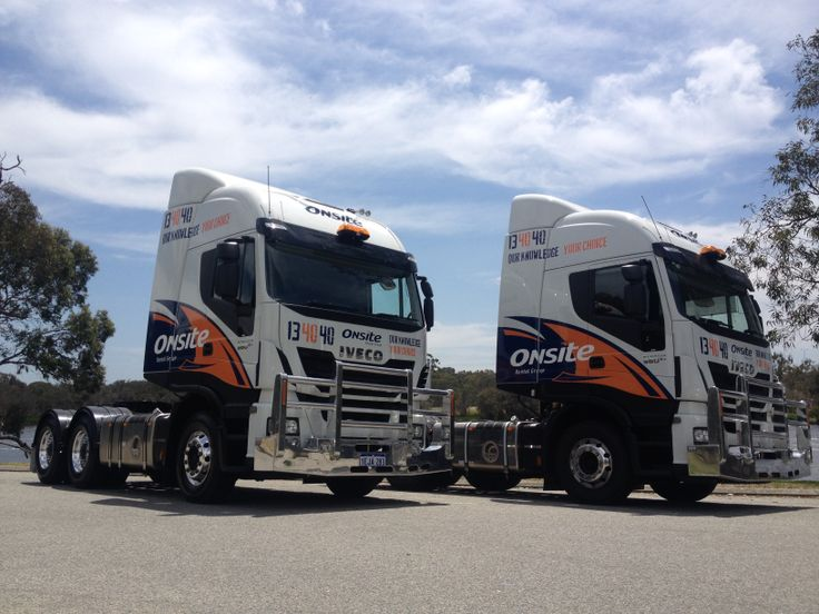 Onsite Rental Group trucks built by WA IVECO