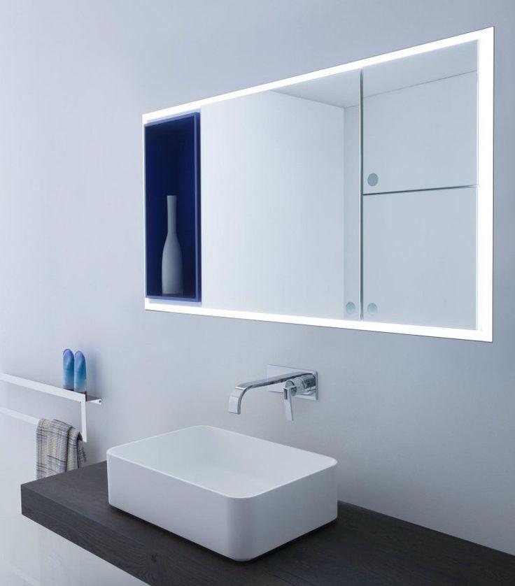 Superieur Miroir Salle De Bain Lumineux En 55 Designs Super Modernes