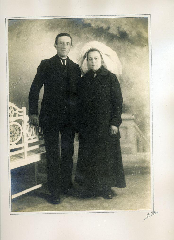 Wie weet welk echtpaar hier is afgebeeld?
