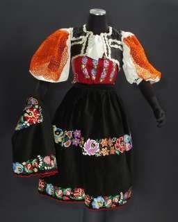 Slovak folk costume (Detva)