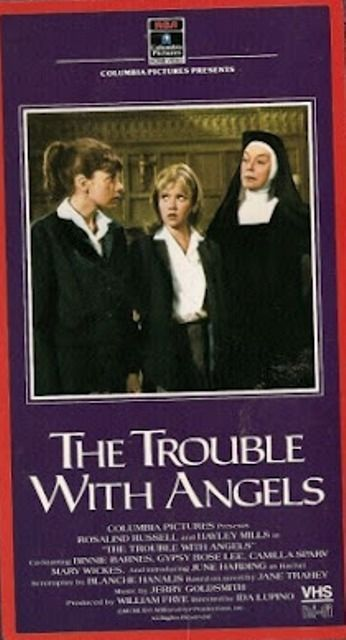VHS The Trouble With Angels: Rosalind Russell Haley Mills Gypsy Rose Lee Barnes
