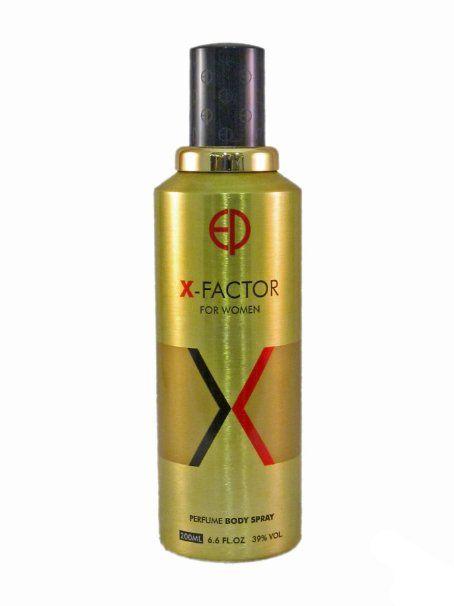 ESTIARA X FACTOR PERFUME BODY SPRAY