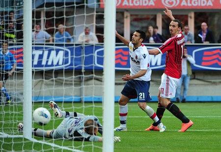 Berbagi poin, kans juara Milan dipertanyakan