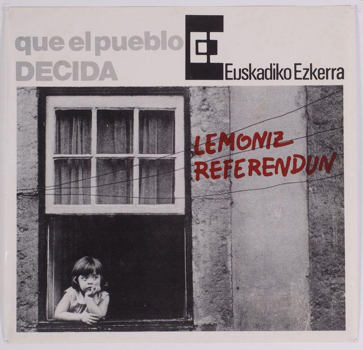 Euskadiko Ezkerra.-- [S.L.]: EE, [1981] 1 lám. (cartel); 60x62 cm. Contiene logotipo de EE