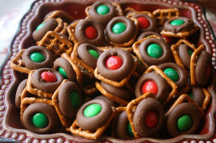 Recipe Shoebox: Holiday Baking #9: Easy Chocolate Pretzel Bites