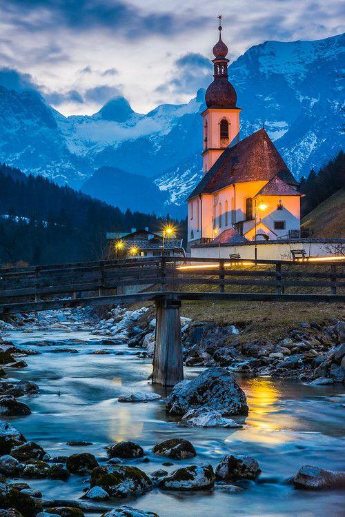 Pfarrkirche St. Sebastian - Ramsau bei Berchtesgaden - Germany