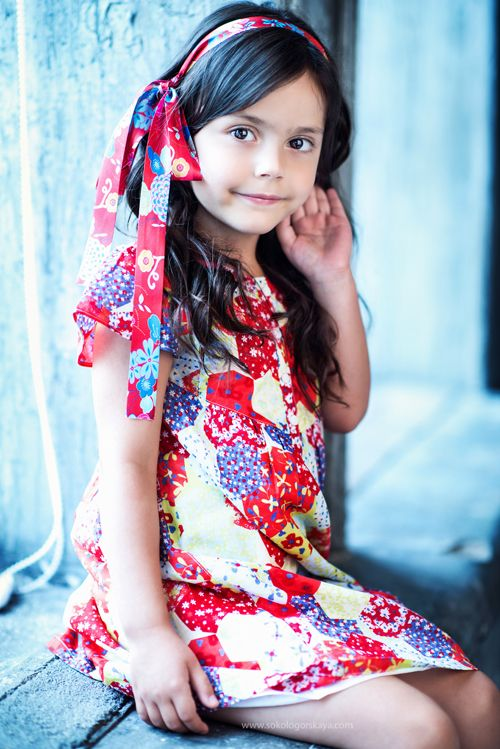 Alina Nivia, fashion kids,  little girl, model